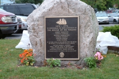 Catalpa Monument Dedication