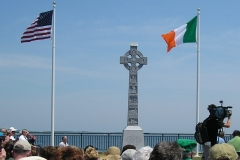 Irish Monument - Dedication - June 24 2005