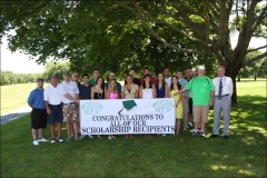 Golf Tournament & Scholarship Awards - 2010